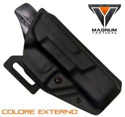 Coldre Magnum EXTERNO Ostensivo Owb em kydex - TAURUS 838/ TH380, 809/ TH9, 840/ TH40