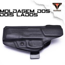 Coldre Magnum Velado Interno Iwb em kydex - PT-59,  PT 917, PT-100, PT-100P, PT-92, PT99, PT101,