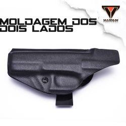 Coldre Magnum Velado Interno Iwb em kydex - GLOCK - G17