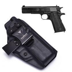 Coldre Magnum Velado Interno Iwb em kydex - M911A1 - 1911 (sem trilho tático)