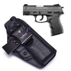 Coldre Magnum Velado Interno Iwb em kydex - PT-838C/ PT-809C/ TH9C