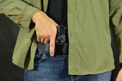 Coldre Magnum Velado Interno Iwb em kydex - GLOCK - G43X